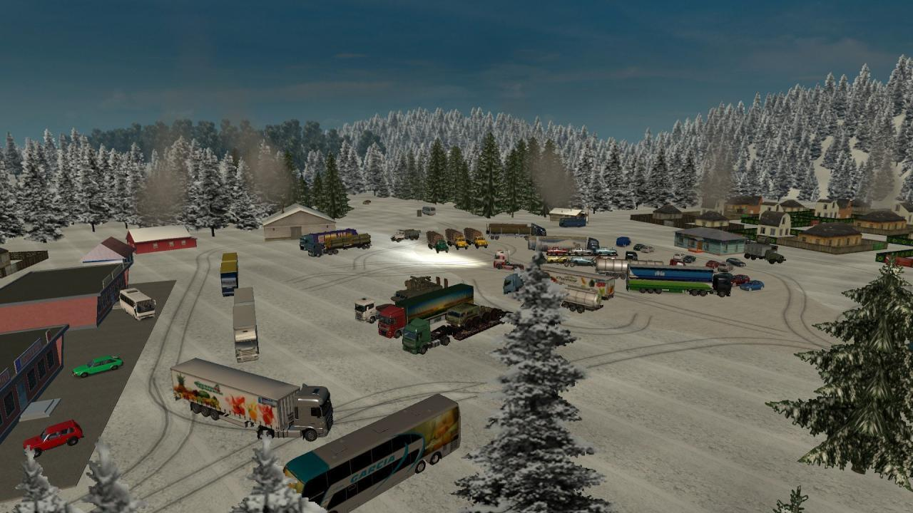 RUSSIAN OPEN SPACES MAP V2 3 1 20 - 1 21 BETA | ETS2 mods | Euro