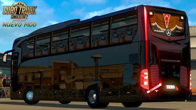 MERCEDES BENZ TRAVEGO BUS MOD | ETS2 mods | Euro truck