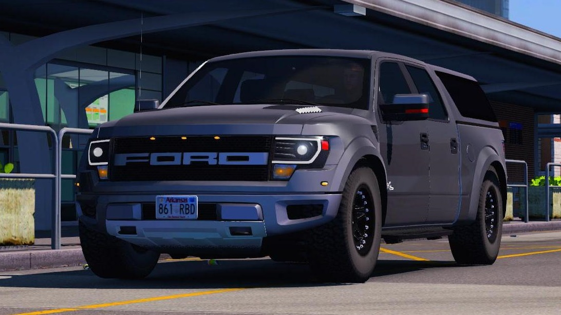 Ford F Svt Raptor X Version Wq