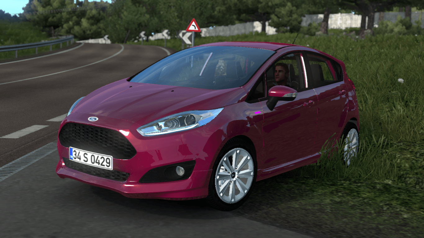 Ford Fiesta St V1r10 1 35 X Ets2 Mods Euro Truck
