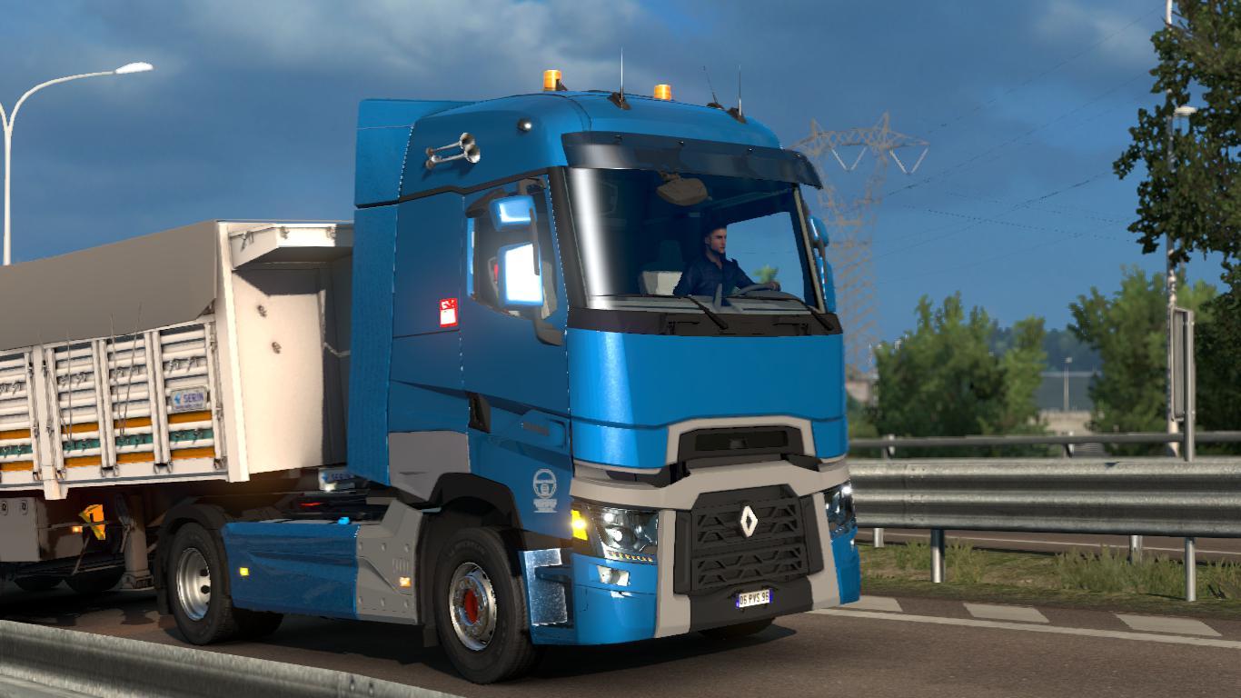 Volvo Truck Dealer >> Renault T by Voıth [1.35.x]   ETS2 mods   Euro truck simulator 2 mods - ETS2MODS.LT