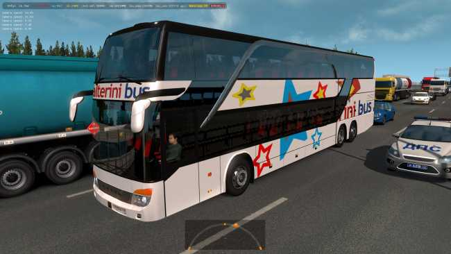 BUSES OF ARGENTINEAN COMPANIES IN TRAFFIC 1 35 X | ETS2 mods | Euro