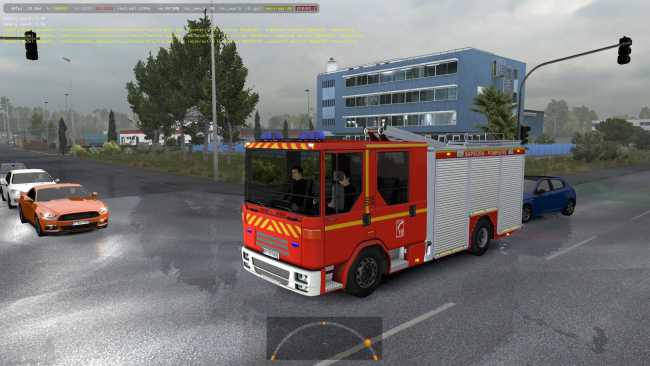 SPECIAL TRANSPORT IN TRAFFIC 1 35 X | ETS2 mods | Euro truck